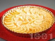 Тарта с лимони и портокали
